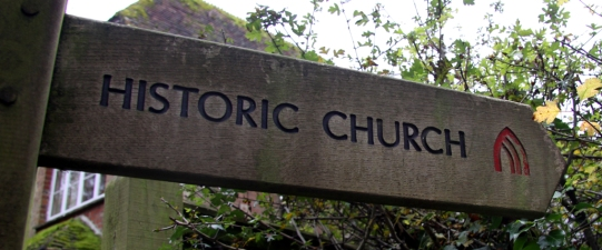 Churches Conservation Trust signposts.