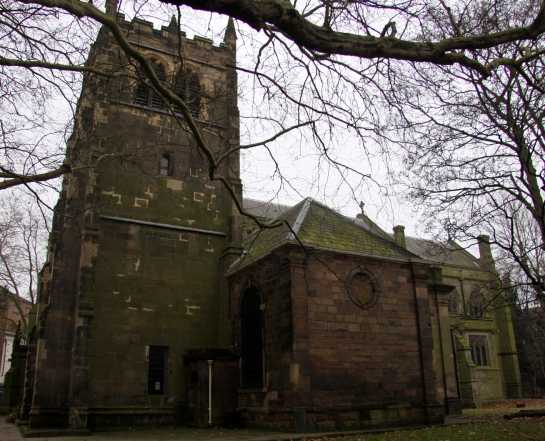 St Werburgh's Church, Derby.