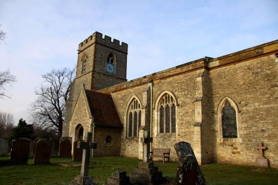 St Lawrence's Church, Broughton, Buckinghamshire.