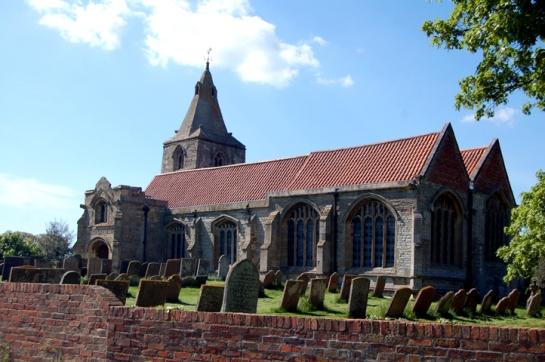 St Giles' Church, Holme, Nottinghamshire.