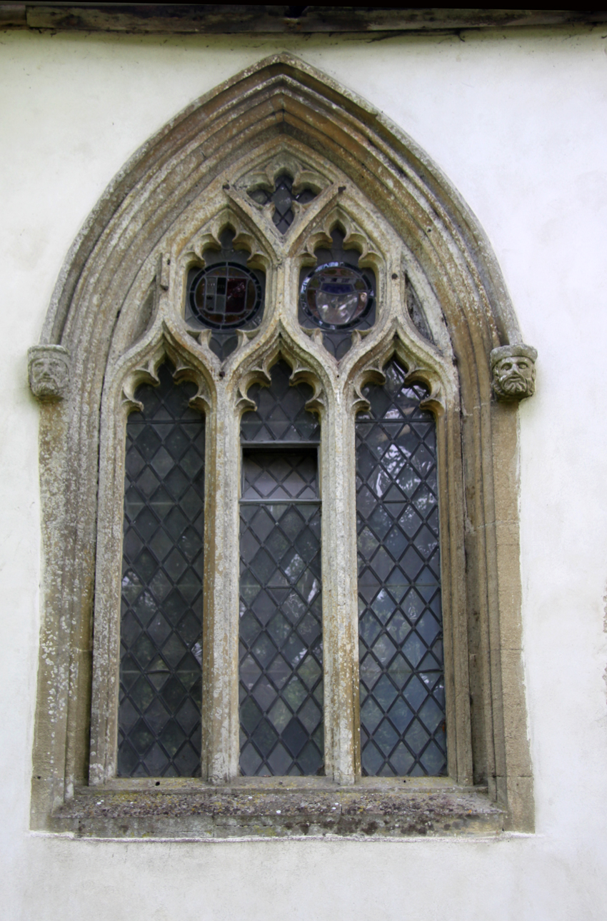 It Also Has Some Lovely Windows This Is The North Window Dates From 1370 I Am Not Sure Why Side Of Church Isnt Dressed With Stone