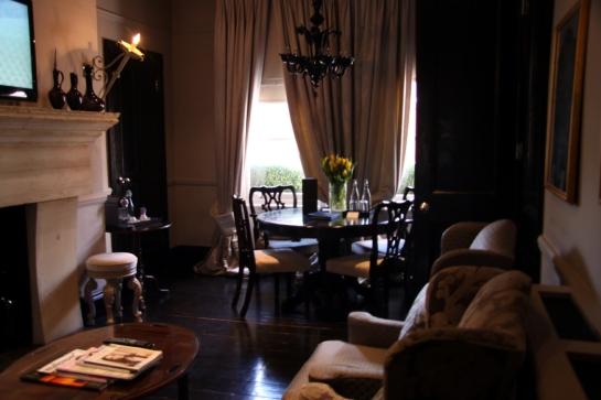 My sitting room.