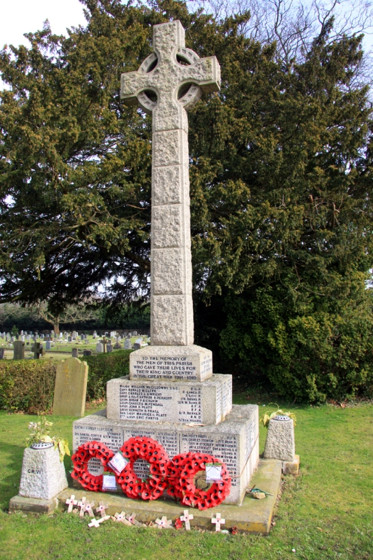 St Johns Windlesham memorial b